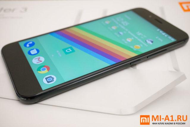 Тест экрана в Xiaomi Mi A1