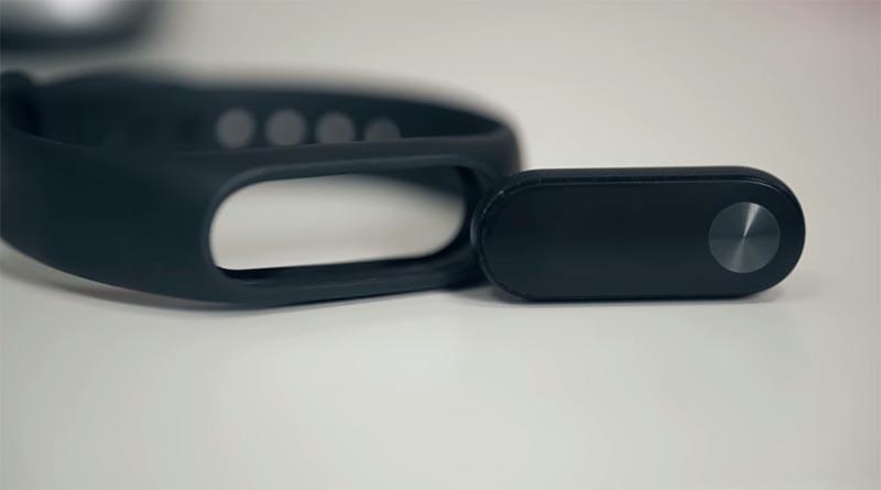 Xiaomi Mi Band 2 легкий