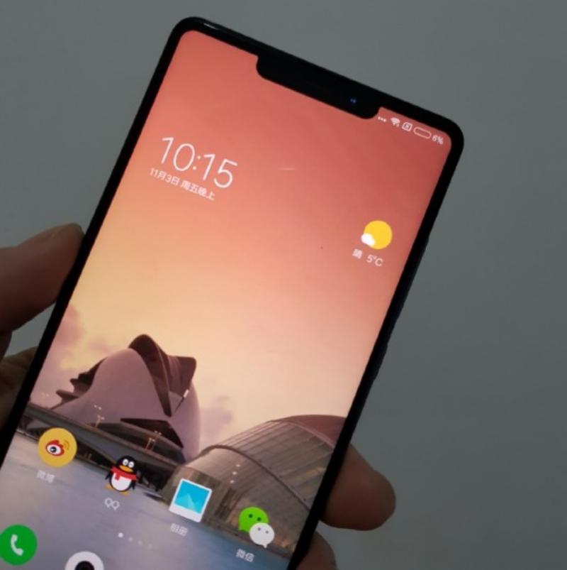 Xiaomi Mi Mix 2s удобен