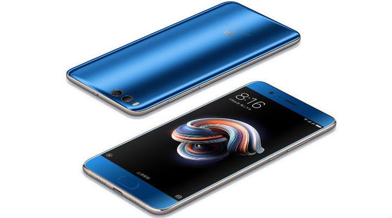 Xiaomi Mi Note 3 синий