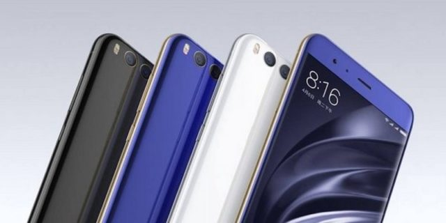 Xiaomi Mi6X разные цвета