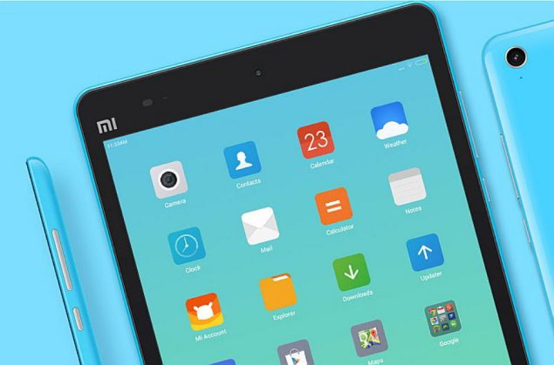 Xiaomi планшет синий