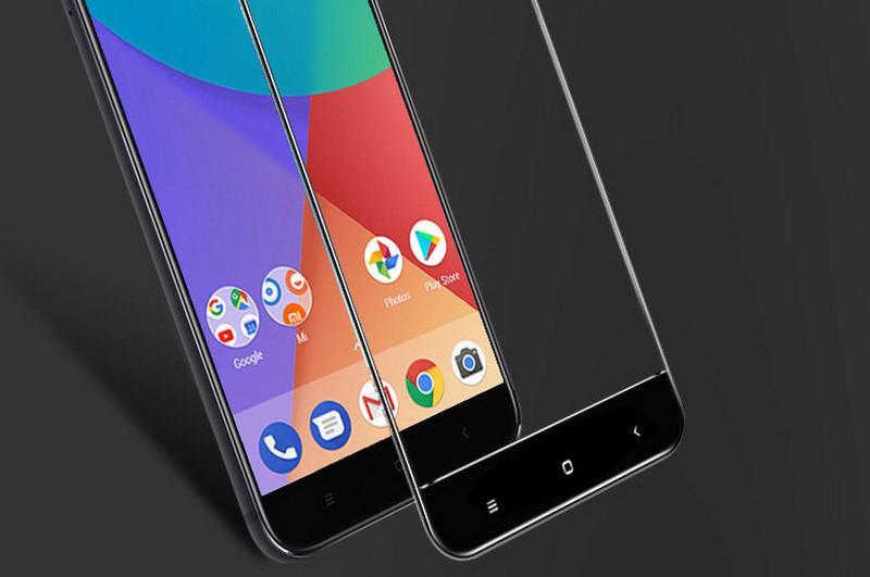 Закаленное стекло для Xiaomi Mi A1