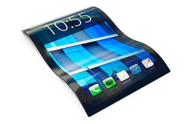 Очень гибкий смартфон
