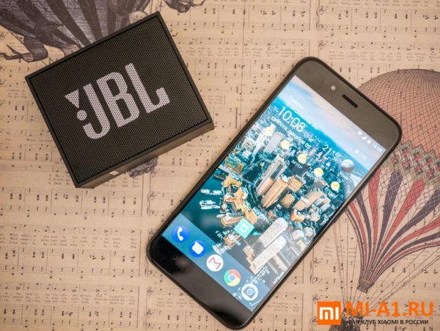 Xiaomi Mi A1 32GB Black уже в продаже