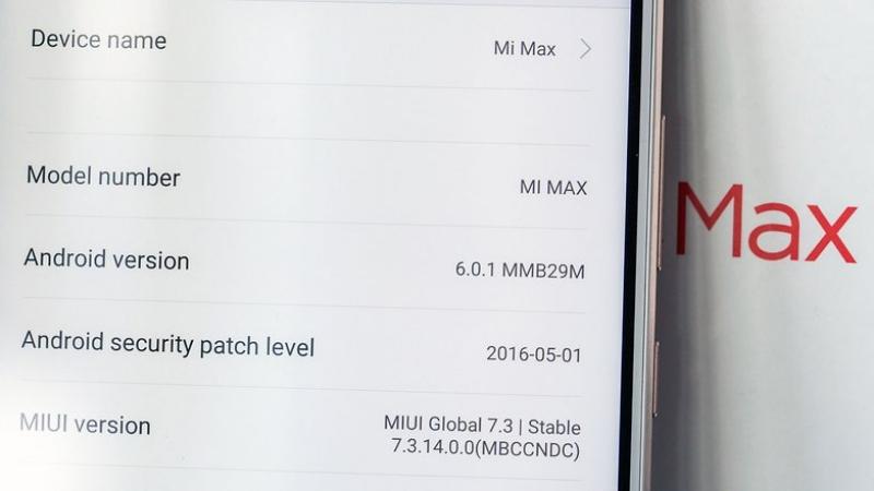Xiaomi Mi Max качественный дисплей