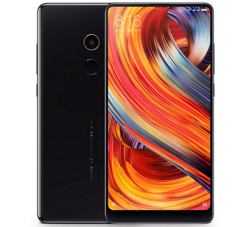 Xiaomi Mi Mix 2 красочный дисплей