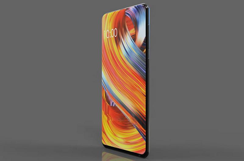 Xiaomi Mi Mix 3 тонкий