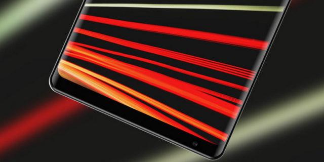Xiaomi Mi Mix 3 передняя часть