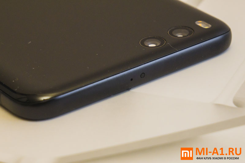 Верхняя грань Xiaomi Mi Note 3