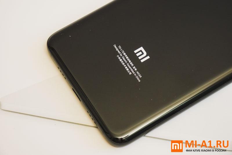 Xiaomi Mi Note 3 задняя крышка