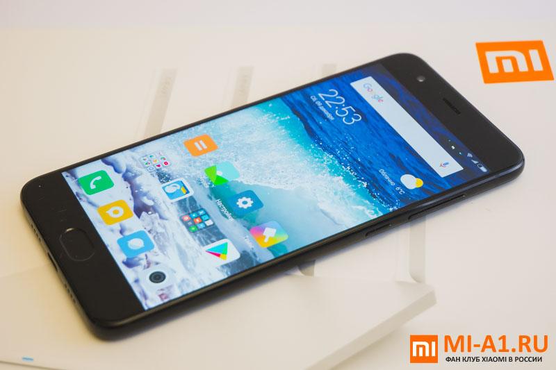 Xiaomi Mi Note 3 внешний вид