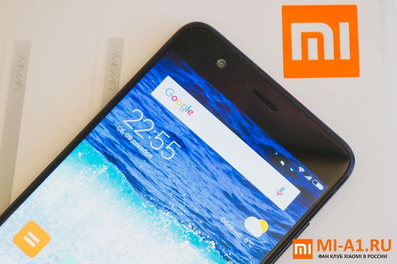 Xiaomi Mi Note 3 лицевая панель