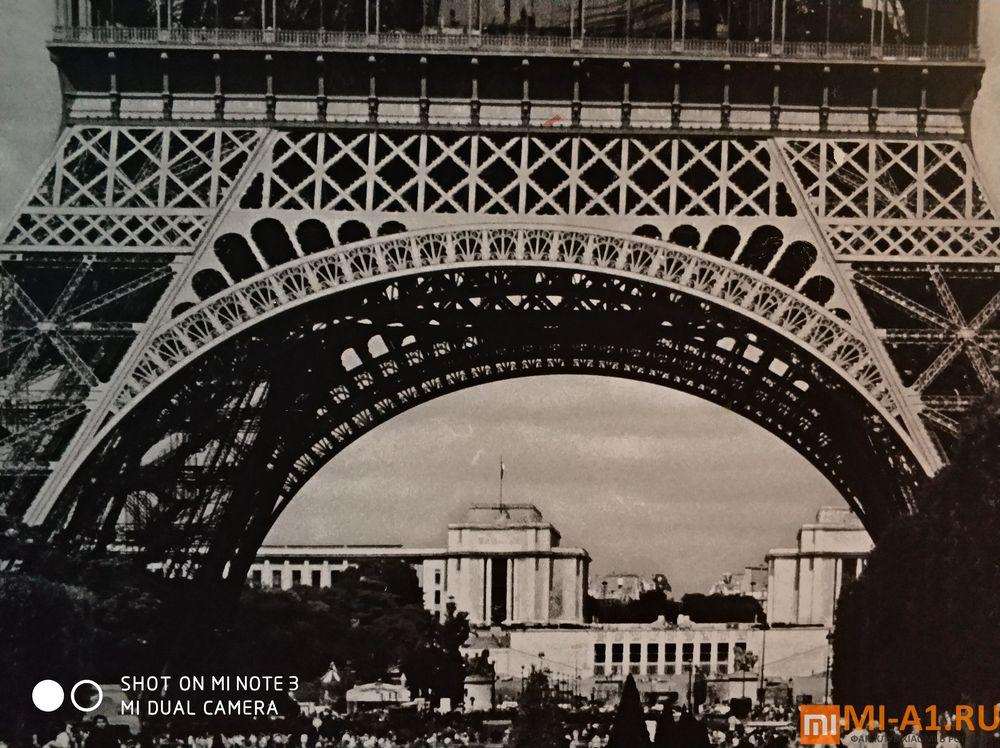 Париж - фото с камеры Сяоми Ми Нот 3