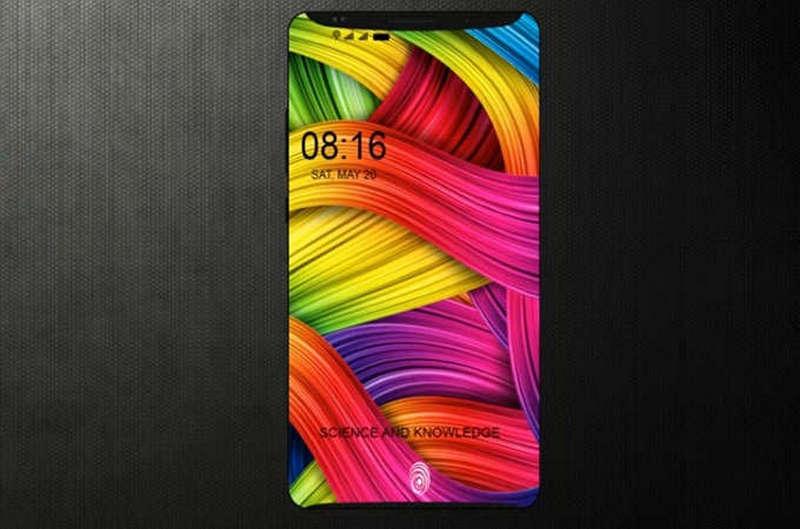 Xiaomi Mi7 красочный дисплей
