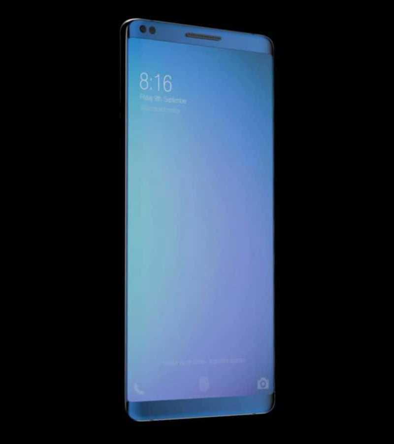 Xiaomi Mi7 экран