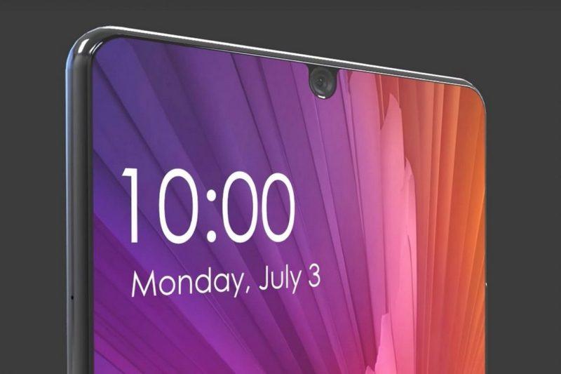 Xiaomi Mi7 почти без рамок