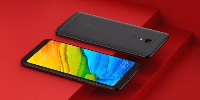 Xiaomi Redmi 5 (5 Plus) со сканером отпечатков пальцев