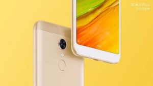 Xiaomi Redmi 5 Plus золотой