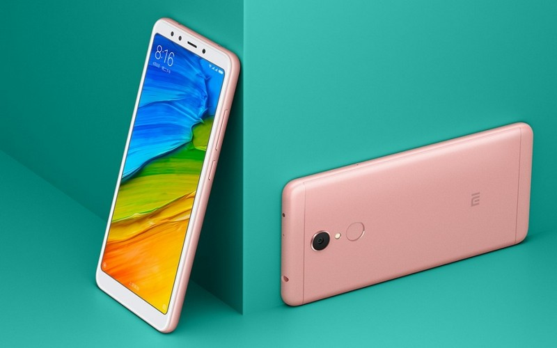 Xiaomi Redmi 5 Plus красивый экран