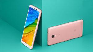 Xiaomi Redmi 5 розовый