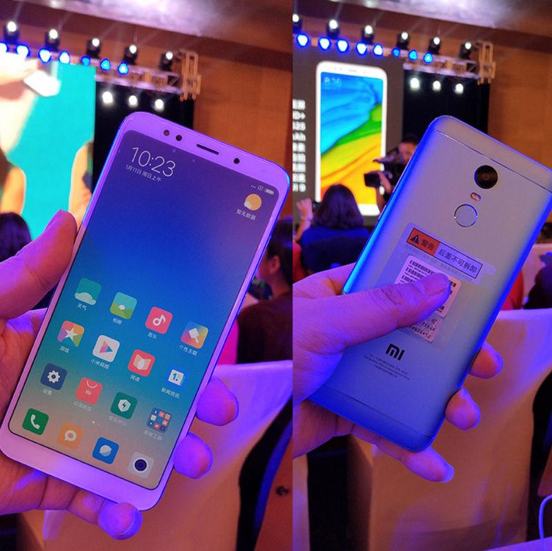 Xiaomi Redmi 5 и 5 Plus реальное фото