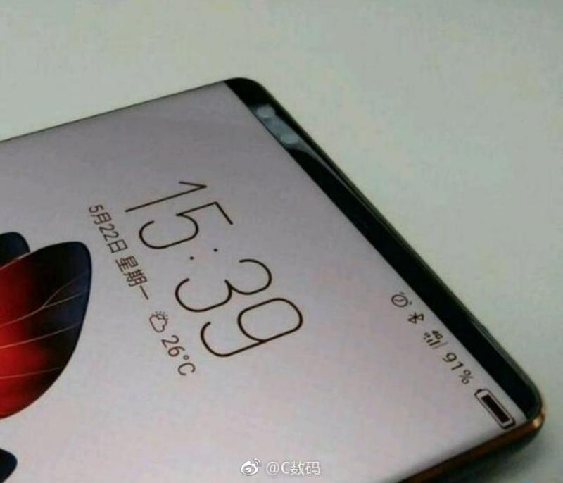 Xiaomi смартфон почти без рамок