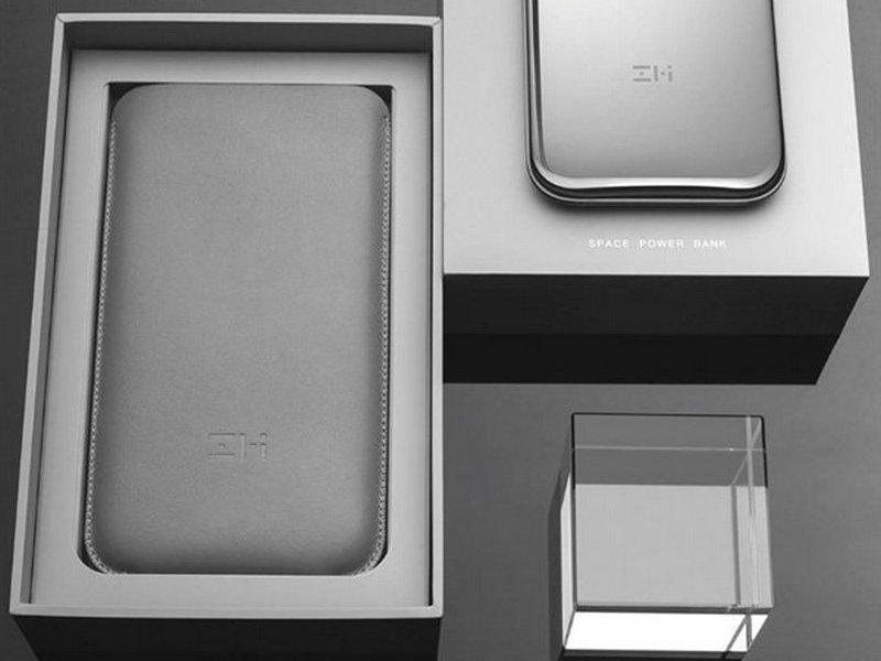ZMI Stainless Steel Power Bank распаковка