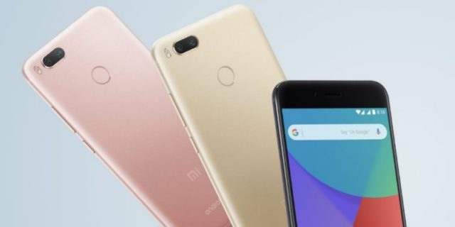 Xiaomi Mi A1 с двойной камерой