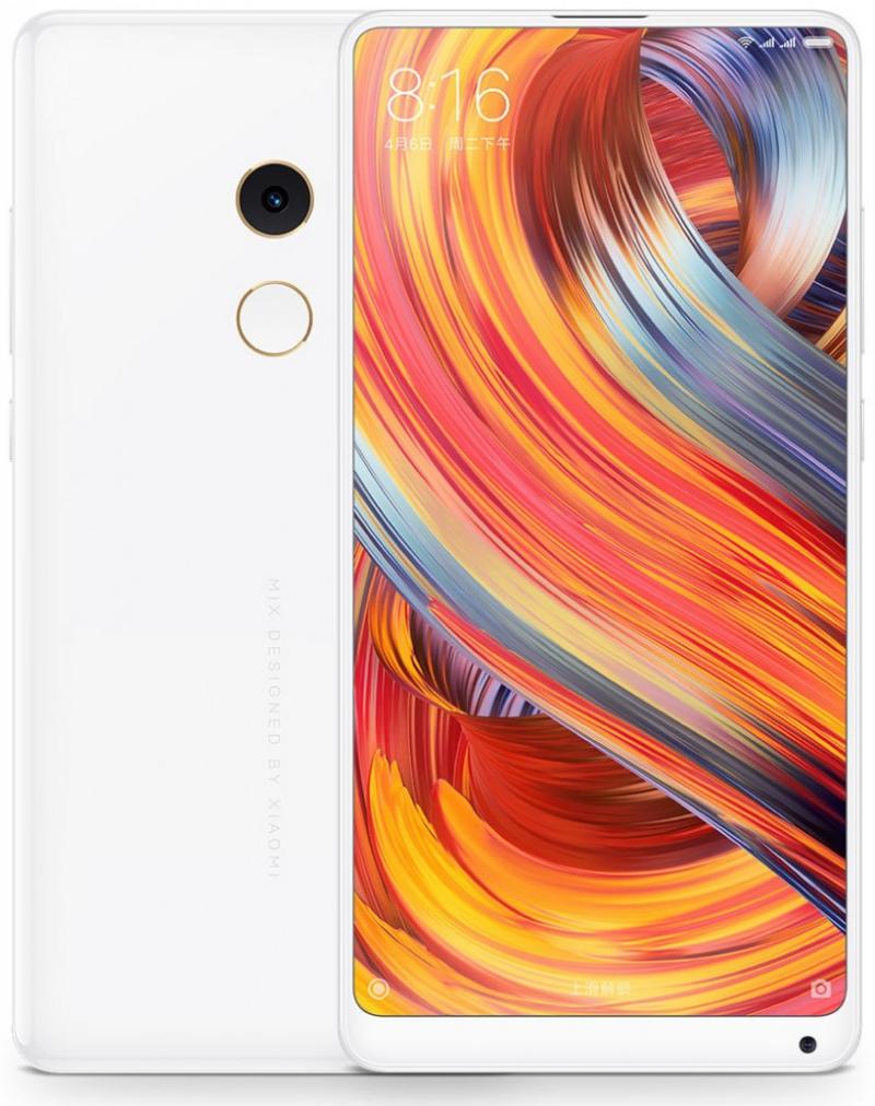 Xiaomi Mi Mix 2s спереди и сзади