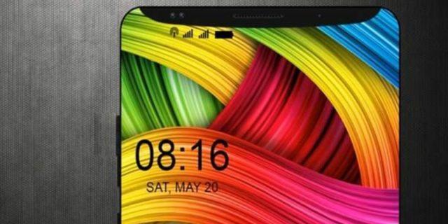 Xiaomi Mi7 с верхней рамкой