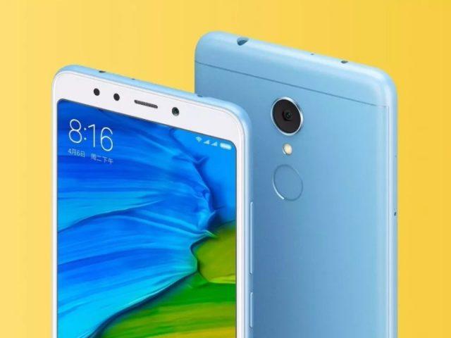 Xiaomi Redmi 5 почти без рамок