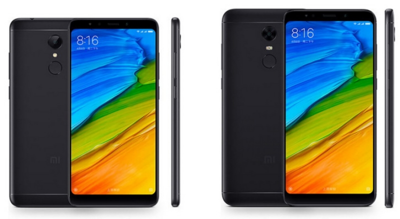 Xiaomi Redmi 5 5 Plus тонкие