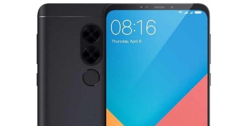Xiaomi Redmi Note 5 спереди и сзади