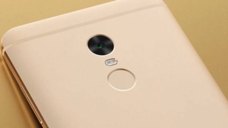 Xiaomi Redmi Note 5 сзади