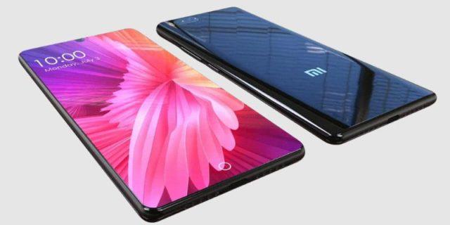 Xiaomi Mi 7 насыщенный дисплей
