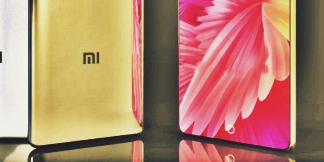 Xiaomi Mi 7 спереди и сзади