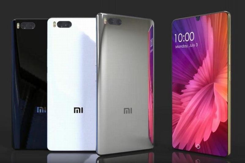 Xiaomi Mi 7 без рамок