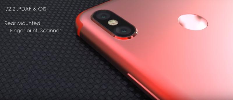 Xiaomi Mi A2 красный