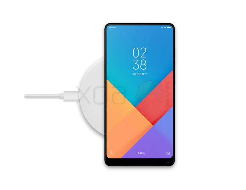 Xiaomi Mi Max 3 беспроводная зарядка