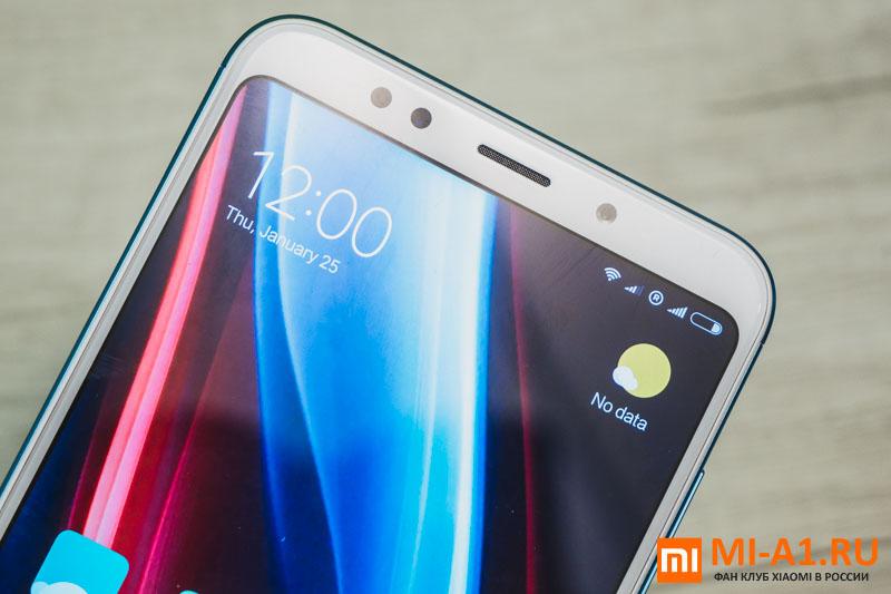 Xiaomi Redmi 5 Plus лицевая панель, экран