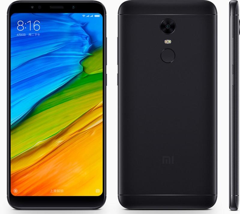 Xiaomi Redmi 5 Plus спереди и сзади