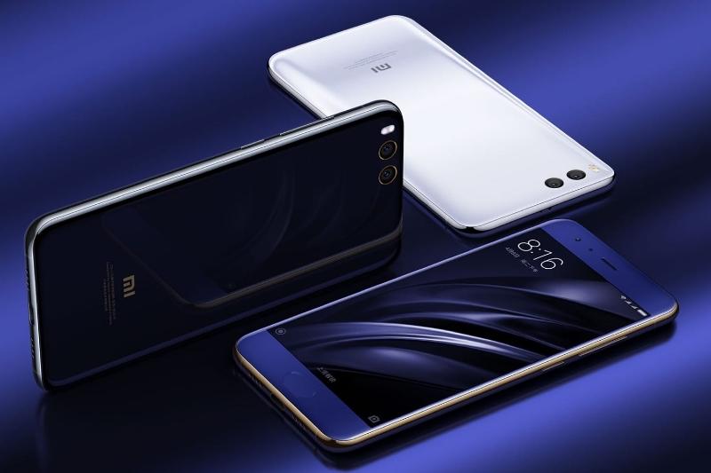 Xiaomi Mi 6 разных цветов