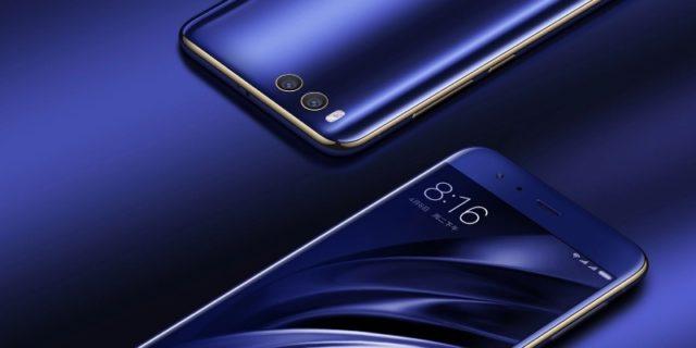 Xiaomi Mi 6 синий