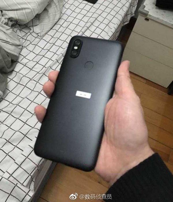 Xiaomi Mi 6X черный задняя крышка