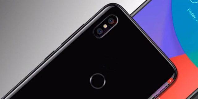 Xiaomi Mi 6X сканер отпечатков пальцев