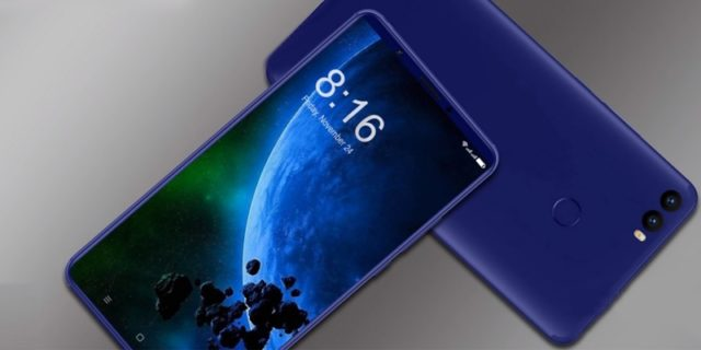 Xiaomi Mi Max 3 спереди и сзади