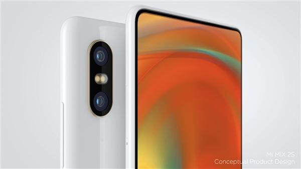 Xiaomi Mi Mix 2s с двойной камерой
