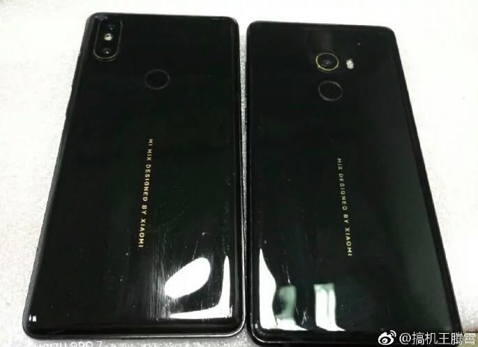 Xiaomi Mi Mix 2s сзади