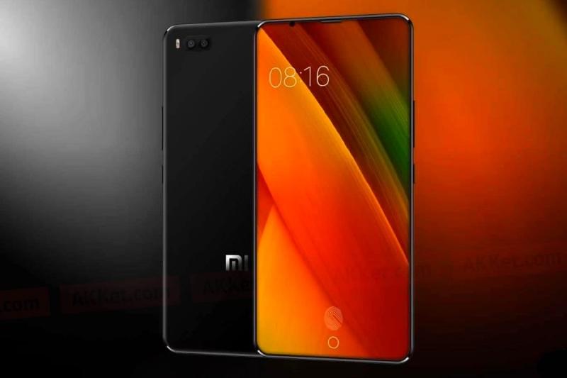 Xiaomi Mi Mix 2s экран